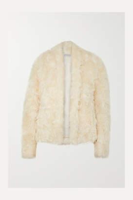 Vince Faux Shearling Jacket - Cream