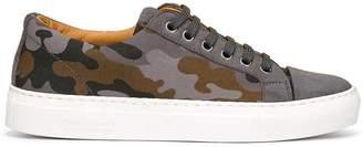Donald J Pliner CHRISTY, Camo Suede Sneaker