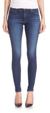 AG Farrah High-Rise Skinny Jeans $188 thestylecure.com