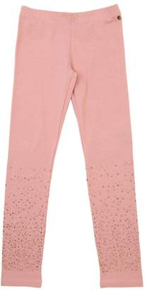 Embellished Cotton Jersey Leggings