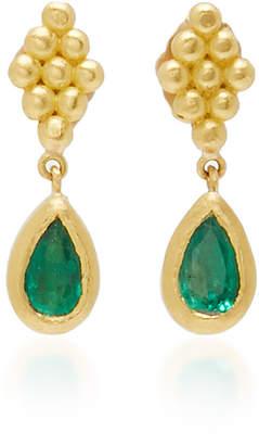 No-Nà Prounis Small Emerald Nona Earrings
