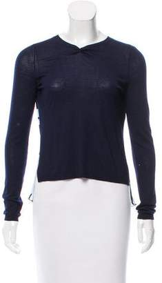 Christian Dior Wool & Silk Top