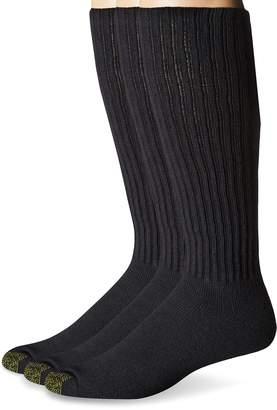 Gold Toe Men's Ultra Tec Performance Over the Calf Athletic Socks, 3-Pack