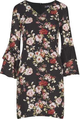 Sam Edelman Printed Bell Sleeve Shift Dress
