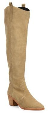 Rebecca Minkoff Rebecca Minkoff Lizelle Tall Suede Point-Toe Boots