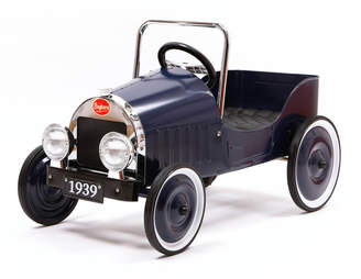Baghera Kids Classic Pedal Ride-On Car Toy
