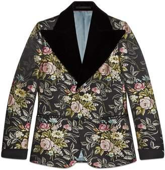 Gucci Silk floral jacquard jacket