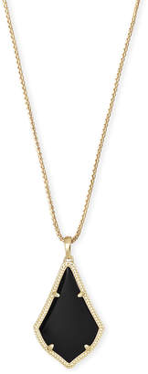 Kendra Scott Alex Long Pendant Necklace in Gold