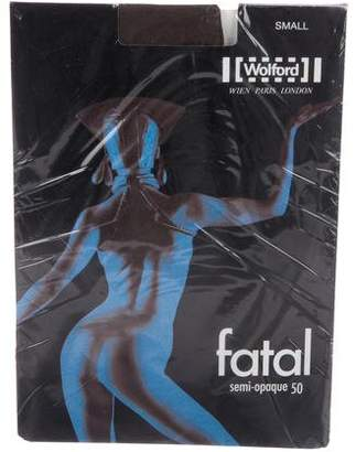 Wolford Fatal Opaque Tights w/ Tags