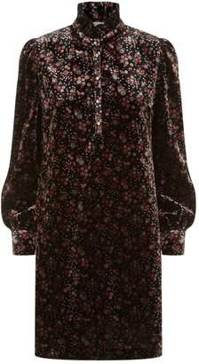 Claudie Pierlot Floral Velvet Dress