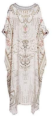 Camilla Women's La Fleur Libertine Print Silk Long Caftan