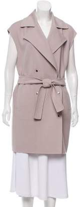 Max Mara Long Wool Vest