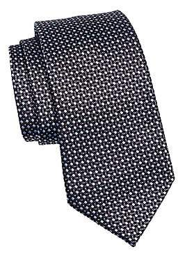 Ermenegildo Zegna Men's Silk Diamond Tie