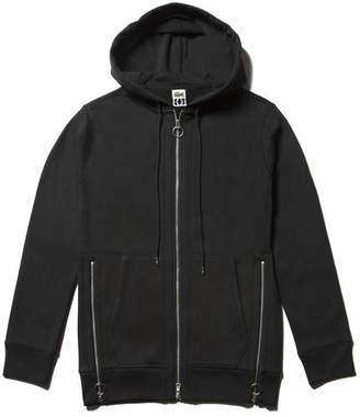 Lacoste Unisex M/M Collab Hooded Fleece Zippered Sweatshirt