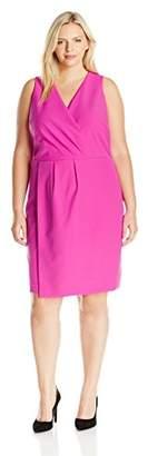 MYNT 1972 Women's Plus-Size Overlay Dress