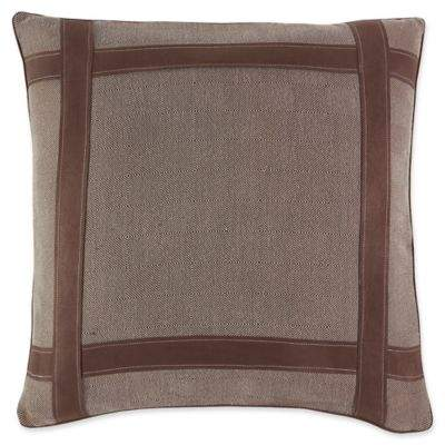 Kent European Pillow Sham in Brown