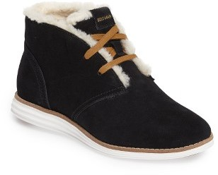 Women's Cole Haan Original Grand Faux Shearling Chukka Boot $230 thestylecure.com
