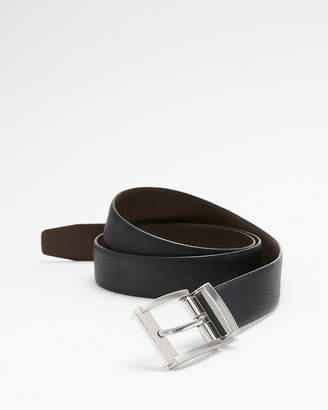 Express Reversible Textured Prong Buckle Belt
