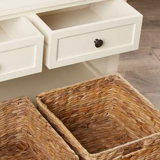 Beachcrest Home Ardina Wood Storage Bench
