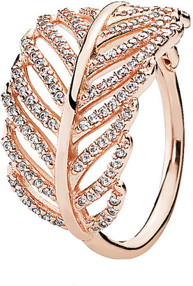 Pandora Rose Light As A Feather Ring