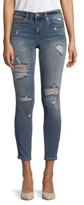 Blank NYC Distressed Capri Jeans