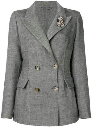 Ermanno Scervino embellished fitted blazer