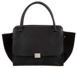 CelineCéline Double Zipper Trapeze Bag