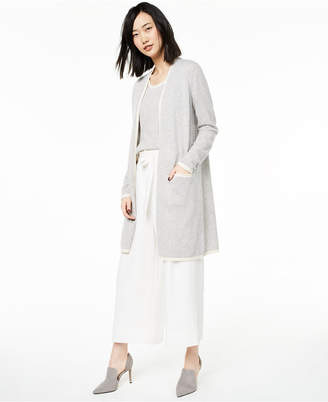 Charter Club Cashmere Tipper Completer Cardigan