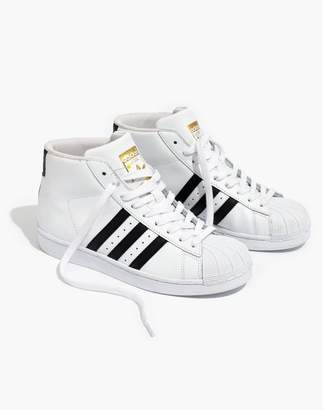 Madewell Adidas Superstar Pro Model High-Top Sneakers