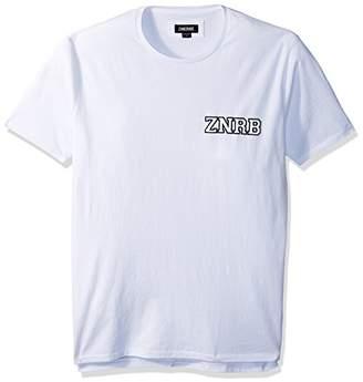 Zanerobe Men's Elongated Split Side Graduate Flintlock Short Sleeve T-Shirt