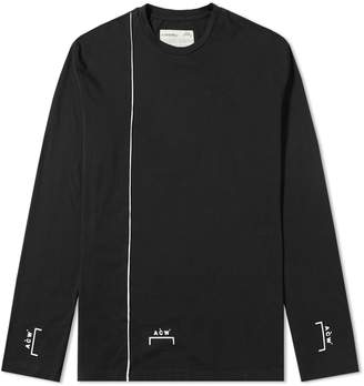 A-Cold-Wall* A Cold Wall* Long Sleeve Piping Bracket Tee