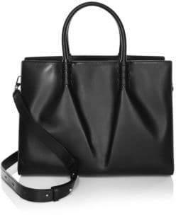 Tod's Lady Moc Leather Medium Satchel