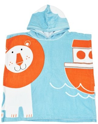 Splash About Children's Hooded Poncho Towel