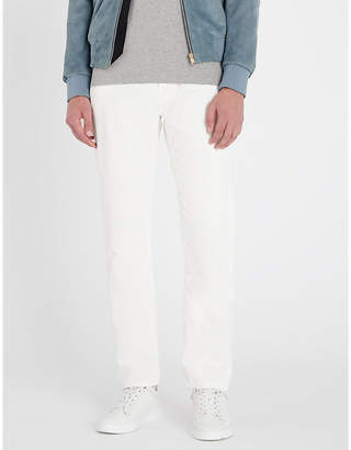 Eleventy Relaxed-fit corduroy trousers
