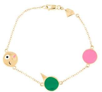 Alison Lou 14K Celebration Bracelet