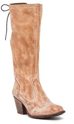 ROAN Alcatraz Block Heel Tall Leather Boot