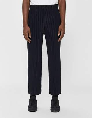 Issey Miyake Homme Plissé Basics Poly Trouser in Navy