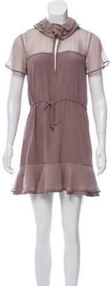 Richard Nicoll Silk Mini Dress