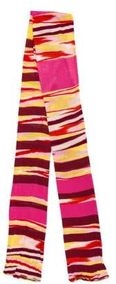 Missoni Patterned Knit Shawl
