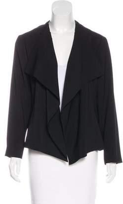 T Tahari Long Sleeve Open Front Jacket