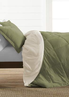 IENJOY HOME Treat Yourself To The Ultimate Down Alternative Reversible 2-Piece Comforter Set - Sage - Twin