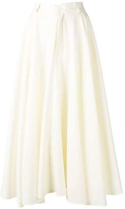 MM6 MAISON MARGIELA flared maxi skirt