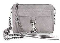 Rebecca Minkoff Women's Mini Mac Nubuck Crossbody Bag