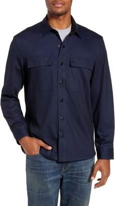 Nordstrom Regular Fit Knit Shirt Jacket