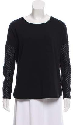 Generation Love Zip Accented Long Sleeve Top