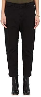 Nili Lotan Women's Jackson Cotton-Blend Ankle-Zip Trousers