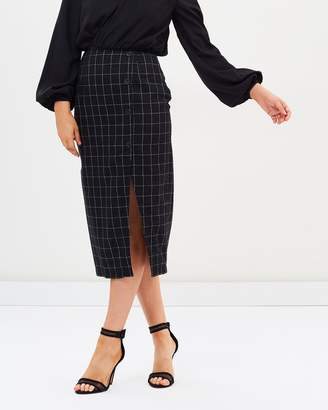 Atmos & Here ICONIC EXCLUSIVE - Sandy Split Front Skirt
