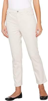 Liz Claiborne New York Jackie 5 Pocket Slim Leg Ankle Pants