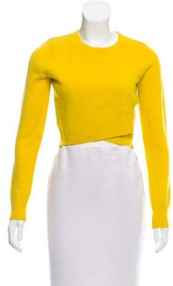A.L.C. Cropped Crew Neck Sweater