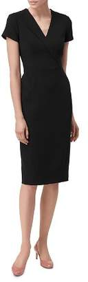 LK Bennett L.K.Bennett Eline Single-Lapel Sheath Dress